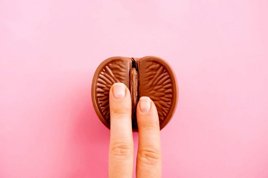 erotisch fruit chocolade yoni massage
